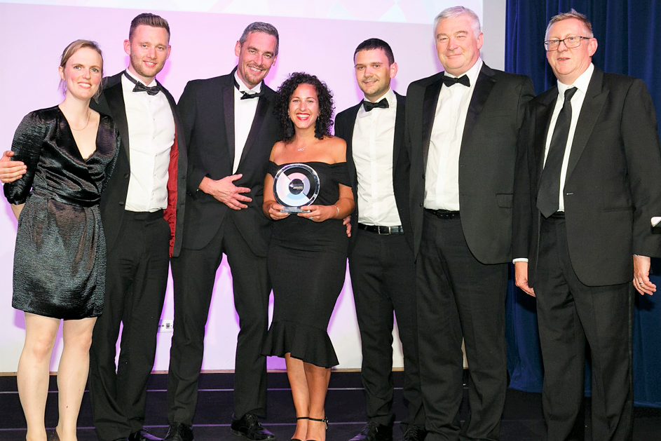 Winner of Winners Award - Clipper Logistics with John Lewis & Partners